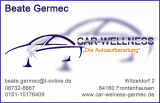 Car Wellness, Beate Germec